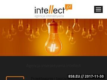 Zrzut strony Intellect - projektowanie stron WWW