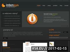 Miniaturka domeny www.intensys.pl