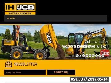 Zrzut strony Maszyny budowlane - Interhandler