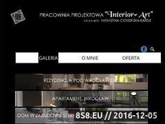Miniaturka domeny www.interior-art.com.pl