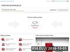 Miniaturka domeny www.internet-promocje.pl