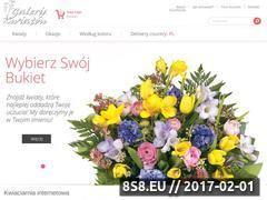 Miniaturka domeny internetowa-kwiaciarnia.eu