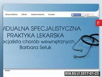 Zrzut strony BARBARA SELUK medycyna pracy