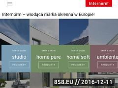 Miniaturka domeny www.internorm.pl