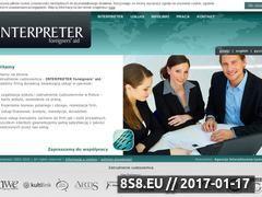 Miniaturka domeny interpreter.waw.pl