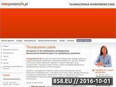 Miniaturka domeny www.interpreters24.pl