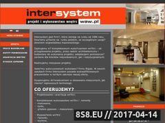 Miniaturka domeny intersystem.waw.pl