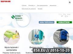 Miniaturka domeny www.interteam.com.pl