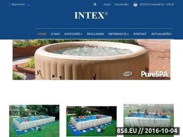 Zrzut strony Baseny ogrodowe intex.pl