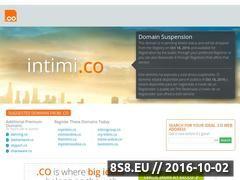 Miniaturka domeny intimi.co