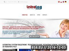 Miniaturka domeny www.intralog.pl