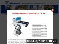 Miniaturka domeny www.introma.com.pl