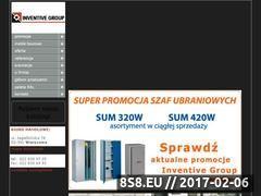 Miniaturka domeny www.inventivegroup.pl