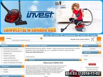 Zrzut strony Sklep Invest