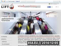 Miniaturka domeny www.investlift.pl