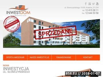 Zrzut strony Mieszkania Kraków sprzedaż