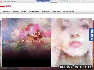 Zrzut strony Obrazy na zamówienie