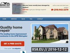 Inside Out Home Improvement Website