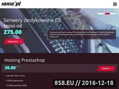Miniaturka domeny www.ionic.pl