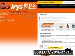 Miniaturka domeny www.irys-mds.pl