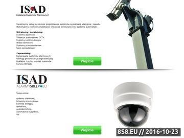 Zrzut strony Alarmy i systemy alarmowe - Rumia, Wejherowo, Trójmiasto - sklep i instalacja ISAD