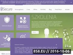 Miniaturka domeny www.isecure.pl