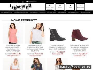 Zrzut strony Outlet firmowy: nowa odzież firmowa w dobrych cenach Andrychów, Wadowice, Kęty