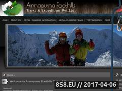 Thumbnail of Island Peak, Mera peak, Lobuche peak, Chulu west Website