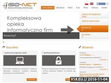 Zrzut strony Systemy ERP, Oprogramowanie dla Firm