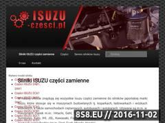 Miniaturka domeny isuzu-czesci.pl