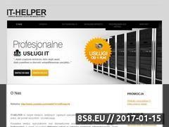 Miniaturka domeny www.it-helper.pl