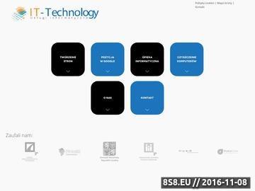 Zrzut strony IT-Technology - Firma Informatyczna Poznań
