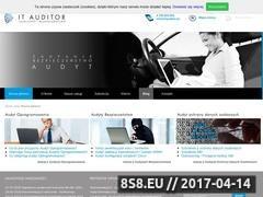 Thumbnail of Audyt legalności i bezpieczeństwa - IT Auditor Website