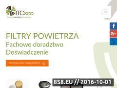 Miniaturka Worki filtracyjne - filtry (www.itceco.pl)