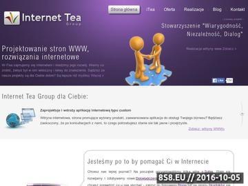 Zrzut strony Projektowanie stron www