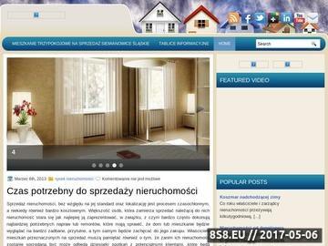 Zrzut strony Usługi informatyczne Wrocław