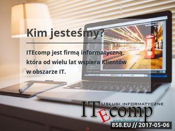 Zrzut strony Usługi informatyczne, tworzenie stron WWW i tel.