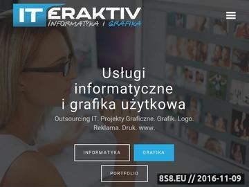 Zrzut strony Www.iteraktiv.pl - zaawansowane rozwiązania informatyczne