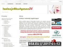 Miniaturka domeny izolacjeakustyczne24.pl