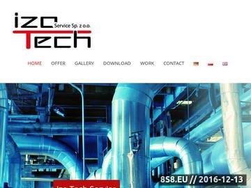 Zrzut strony Izo Tech Osadnik s.c.