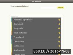 Miniaturka domeny www.izr-narzedzia.eu