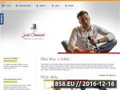 Miniaturka domeny www.jacekolewniczak.pl