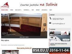 Miniaturka domeny jachty-solina.com.pl