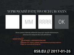 Miniaturka domeny www.jacobscreek.pl