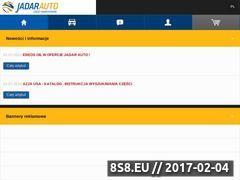 Miniaturka domeny www.jadar-auto.pl
