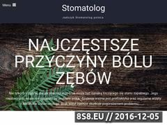 Miniaturka domeny jadczyk-stomatolog.pl
