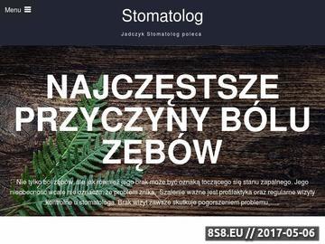 Zrzut strony Stomatolog Szczecin