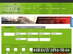 Miniaturka domeny www.jagla.pl
