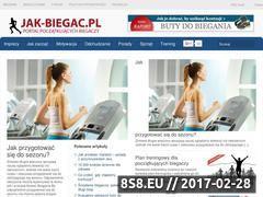 Miniaturka domeny jak-biegac.pl