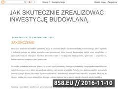 Miniaturka domeny jak-zrealizowac-inwestycje-budowlana.blogspot.com